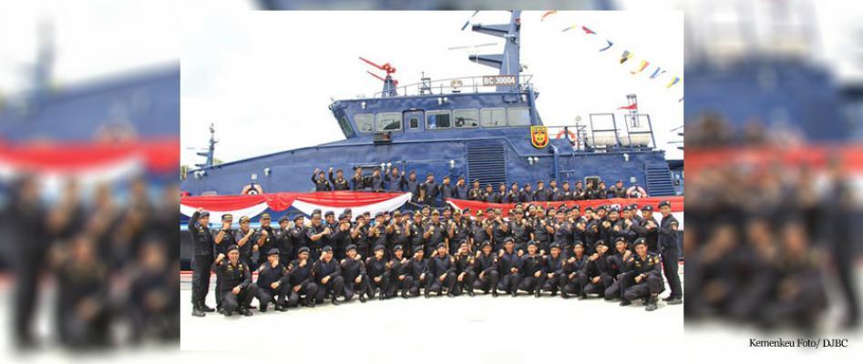 Bea Cukai Tambah Sembilan Kapal Baru