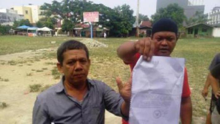 Jefri Laporkan Camat Medan Timur ke Polresta Medan