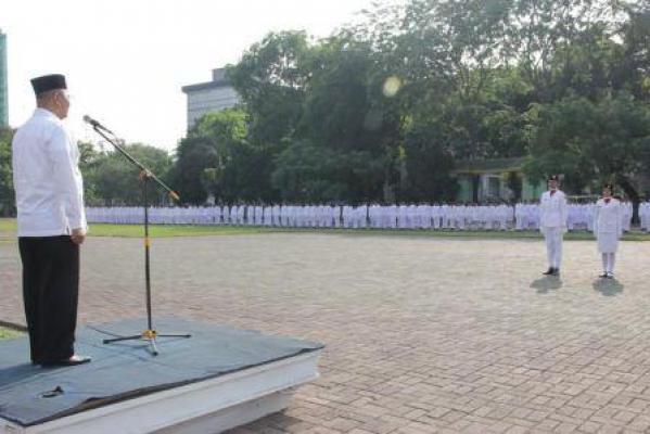Lomba Kreasi Gelar Aksi Paskibra Resmi Dibuka Walikota Medan