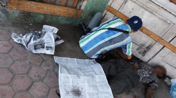 Mayat Pria Ditemukan di Depan Ruko di Jalan Brigjend Katamso Medan