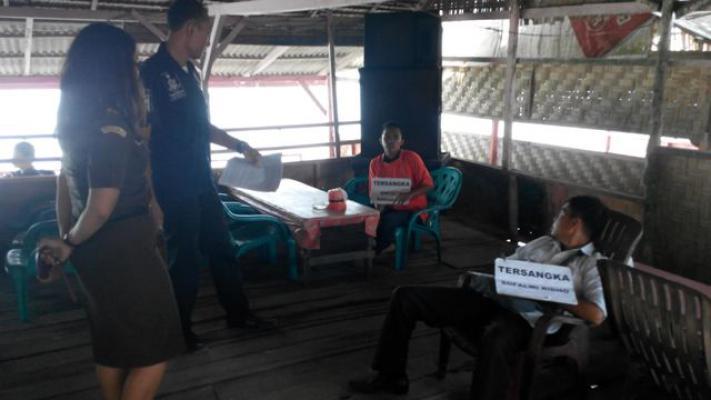 Polres Deli Serdang Rekonstruksi Kasus Pembunuhan Karyawan PTPN III