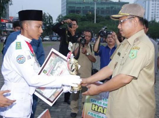 SMKN 2 Medan dan SMA Harapan Mandiri Raih Juara Pertama