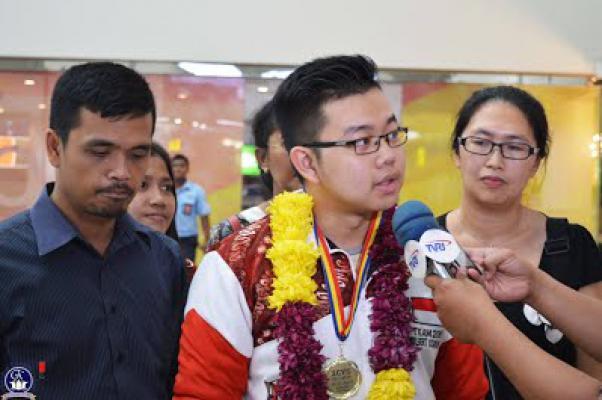 Wilbert, Siswa SMA Asal Deli Serdang Raih Medali Emas di ICYS Rumania