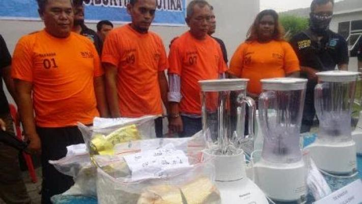 BNN Musnahkan 4 Kg Sabu dan 24 Kg Ganja