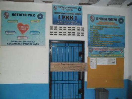 Kantor Desa Disegel, Camat Pantai Labu Anggap Masalah Sudah Selesai