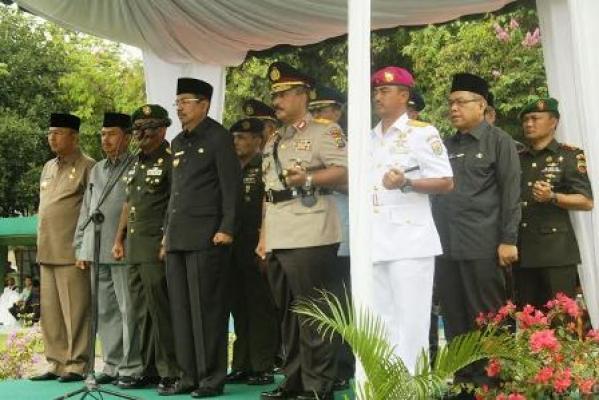 Plt Gubernur Sumut Inspektur Upacara Peringatan Harkitnas ke-108