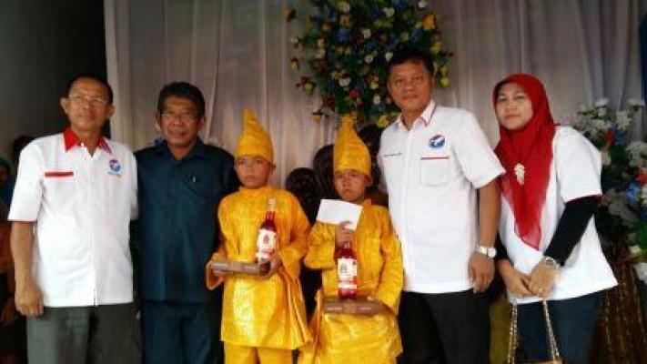 Sambut Bulan Ramadhan, DPC Partai Golkar Kota Binjai Gelar Sunatan Masal