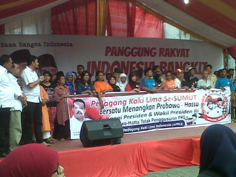 APKLI Sumut Deklarasi Dukung Prabowo-Hatta
