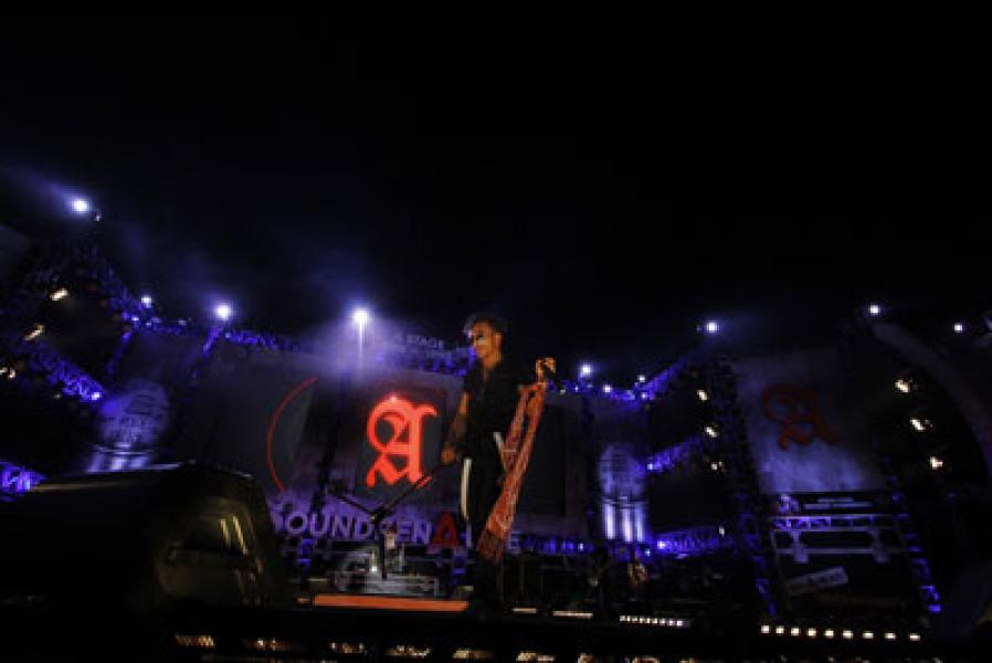 Slank Tutup Konser Soundrenaline 2014 di Medan