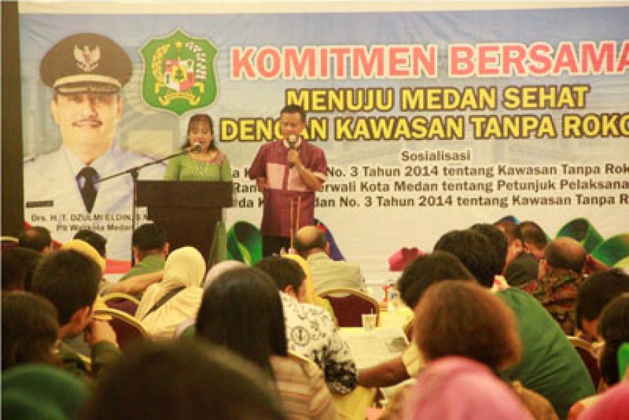 WHO Apresiasi Keberhasilan Plt Wali Kota Medan Terapkan KTR