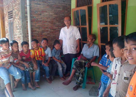 Anggota DPRD Madina Erwin Nasution Gelar Sunat Massal di Ulu Pungkut