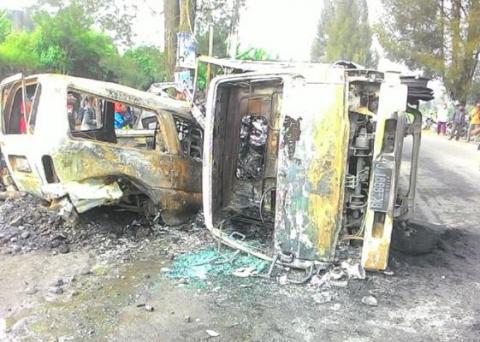 Kecelakaan Maut di Jalan Medan-Berastagi, 4 Tewas