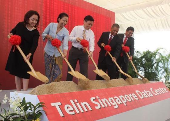 Telkom Bangun Data Center di Singapura