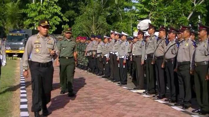 600 Personel Gabungan Lakukan Pengamanan Arus Mudik di Langkat