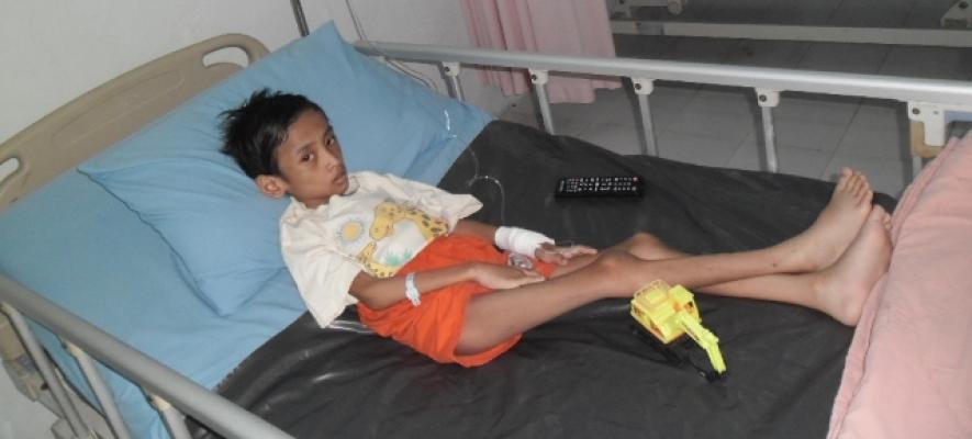 Adi, Anak Penderita Gizi Buruk Diduga Korban Kekerasan