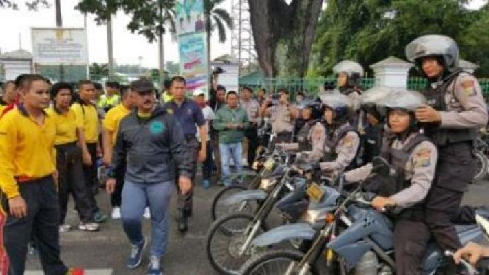 Armada Polresta Medan Siap Beri Pengamanan Kepada Masyarakat  Selama Ramadhan
