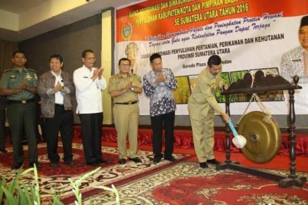 Gubsu Minta Kabupaten Kota/Buat Perda Perlindungan Lahan Tanaman Pangan