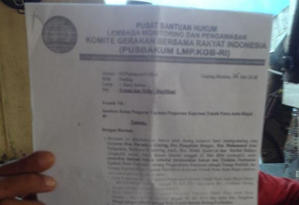 Guru yang Dipecat Yayasan Somasi SMK Putra Anda