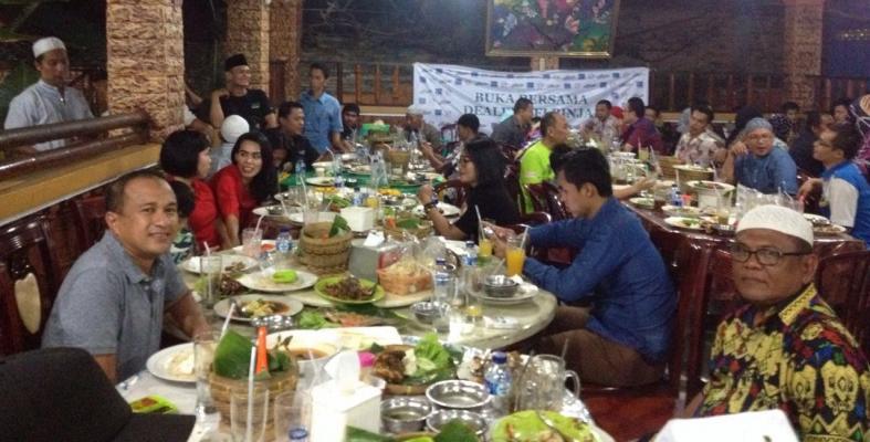 Kapolres Binjai Buka Bersama dengan Wartawan