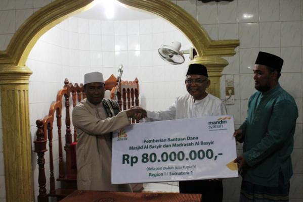 Mesjid Al-Basyir dan Madrasah Al-Hikmah Terima Bantuan BSM