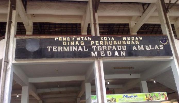 Sebanyak Bus 60 AKDP dan AKP Diperiksa di Terminal Amplas