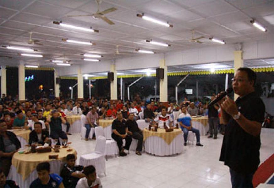 Walikota Binjai Nobar Final Piala Dunia