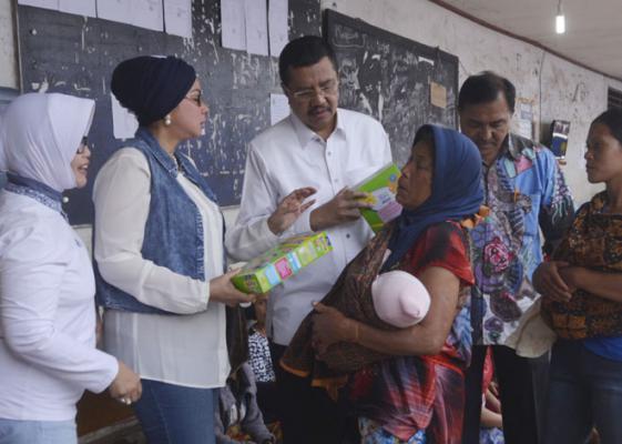 Perbankan, REI dan Swasta Diajak Bantu Pengungsi Sinabung