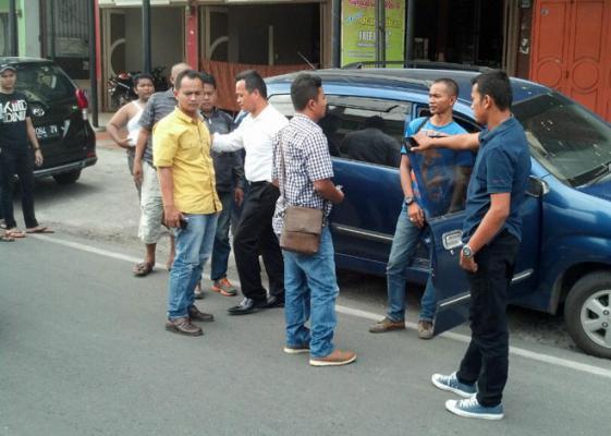 Polres Binjai Reka Ulang Pembacokan Wartawan