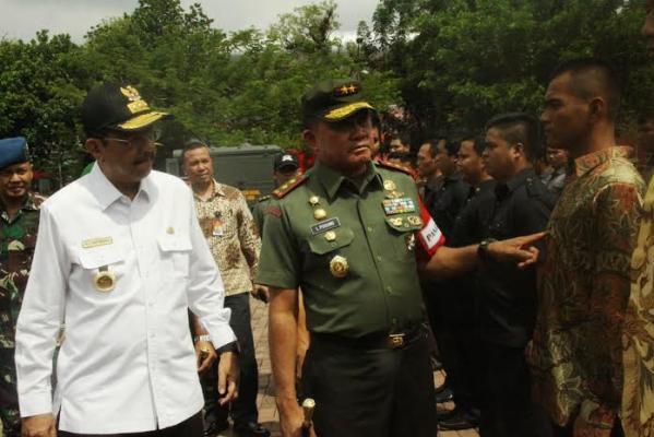 Apel Persiapan Penyambutan Kedatangan Presiden Jokowi ke Medan