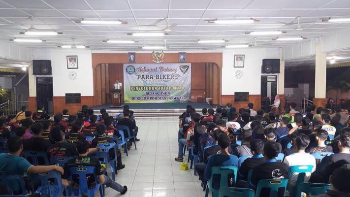 BNN Kota Binjai Ajak Bikers Jauhi Narkoba