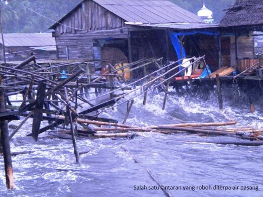 Cuaca Buruk Terpa Sibolga, BMKG Imbau Warga Waspada