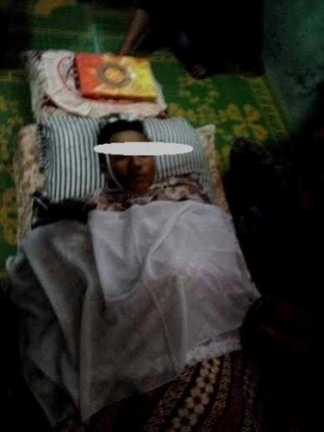 Ditombak Punggungnya Pakai Tojok Sawit, Dwi Hembuskan Nafas Terakhir