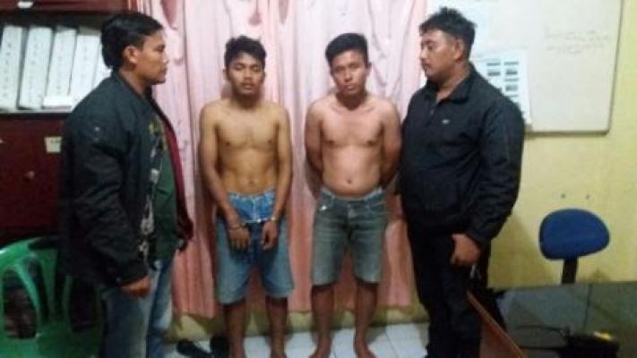 Dua Begal Asal Delitua, Kiki dan Novia Ditangkap Polisi