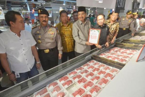 Gubsu Heran, Harga Daging di Pasar Modern Lebih Murah