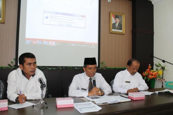 Kakankemenag Siantar Berikan Bimbingan Kepada 94 Jemaah Haji Asal Siantar