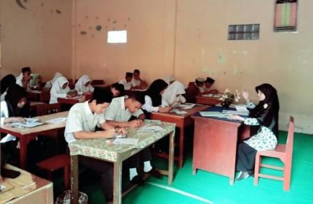 MAN Kabanjahe Laksanakan Tes Tertulis PPDB Tahun 2016