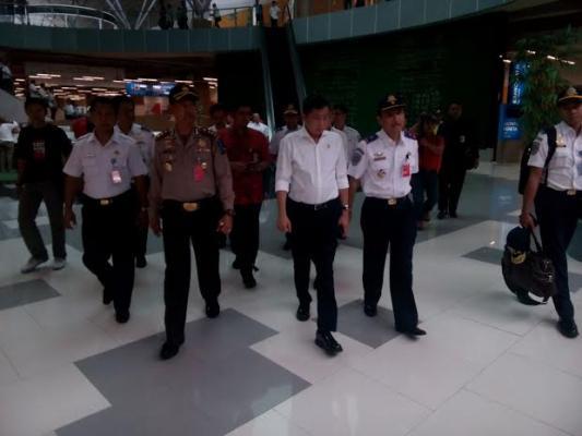 Menhub Tinjau Bandara Kuala Namu
