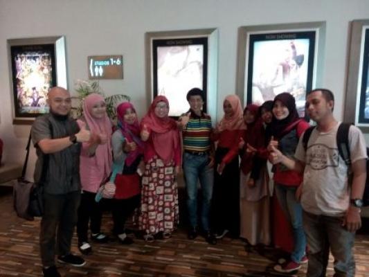 Nonton Film Untuk Angeline di Hermes XXI Medan Bareng Artis dan Kak Seto