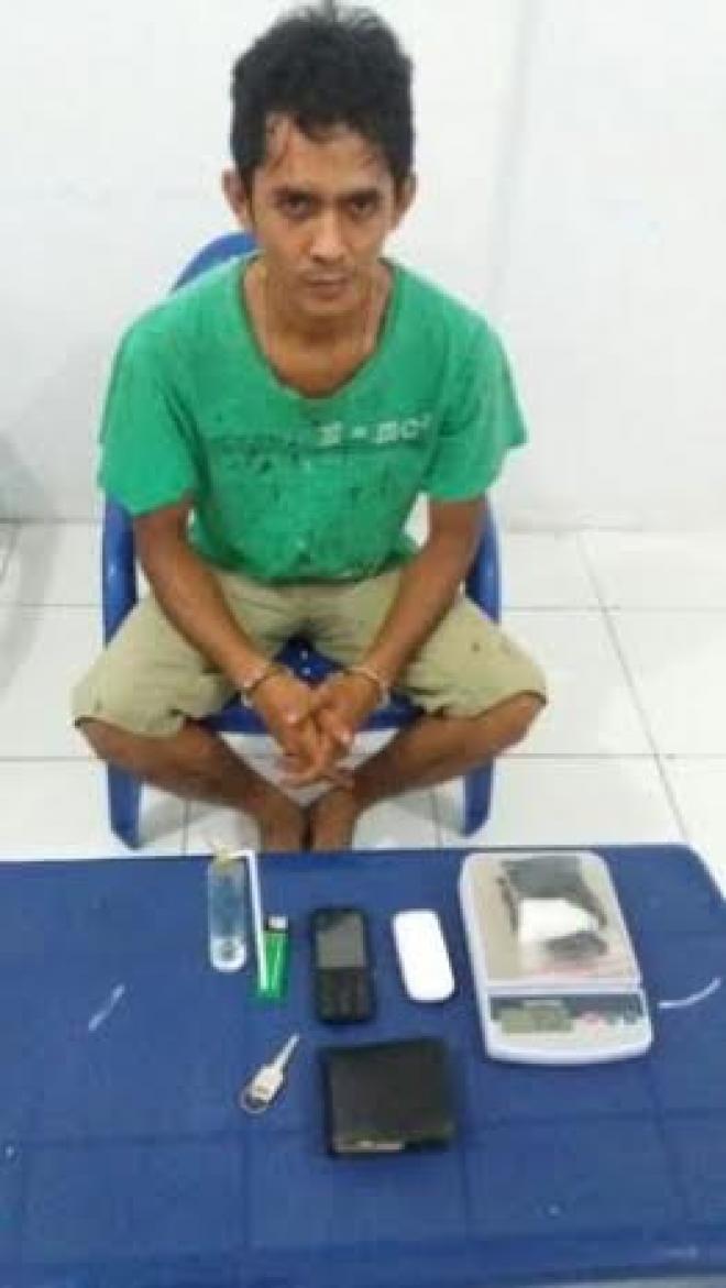 Oknum Anggota Polsek Binjai Barat Bantu Bandar Edarkan Sabu