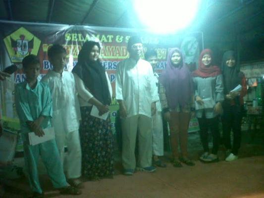 Remaja Masjid Jamik Kampung Aur dan Sanggar Perkasa Gelar Buka Puasa Bersama