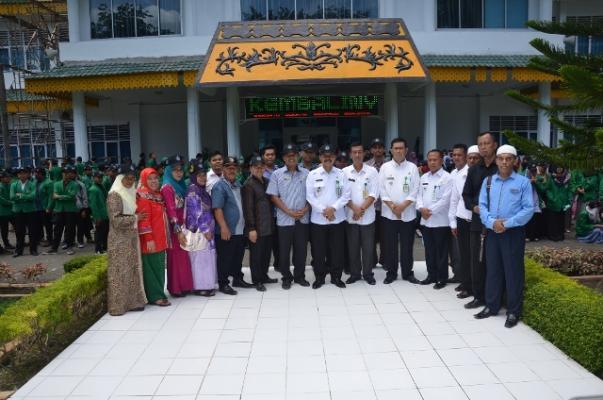 Sebanyak 278 Mahasiswa UIN Sumut Lakukan KKN di Langkat
