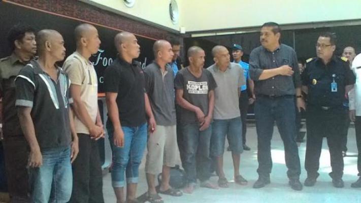 Sempat Ditahan di Malaysia, 6 Nelayan Asal Batubara dan Langkat Dipulangkan