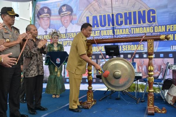 UPTD Metrologi Legal Deli Serdang Launching Pertama di Sumut