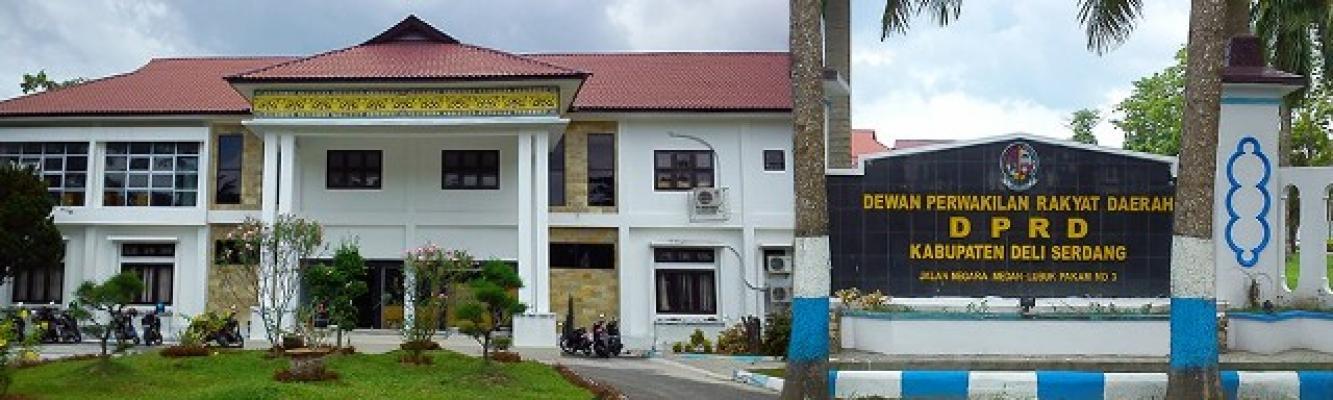 Usai Lebaran, Kantor DPRD Deli Serdang Masih Sepi