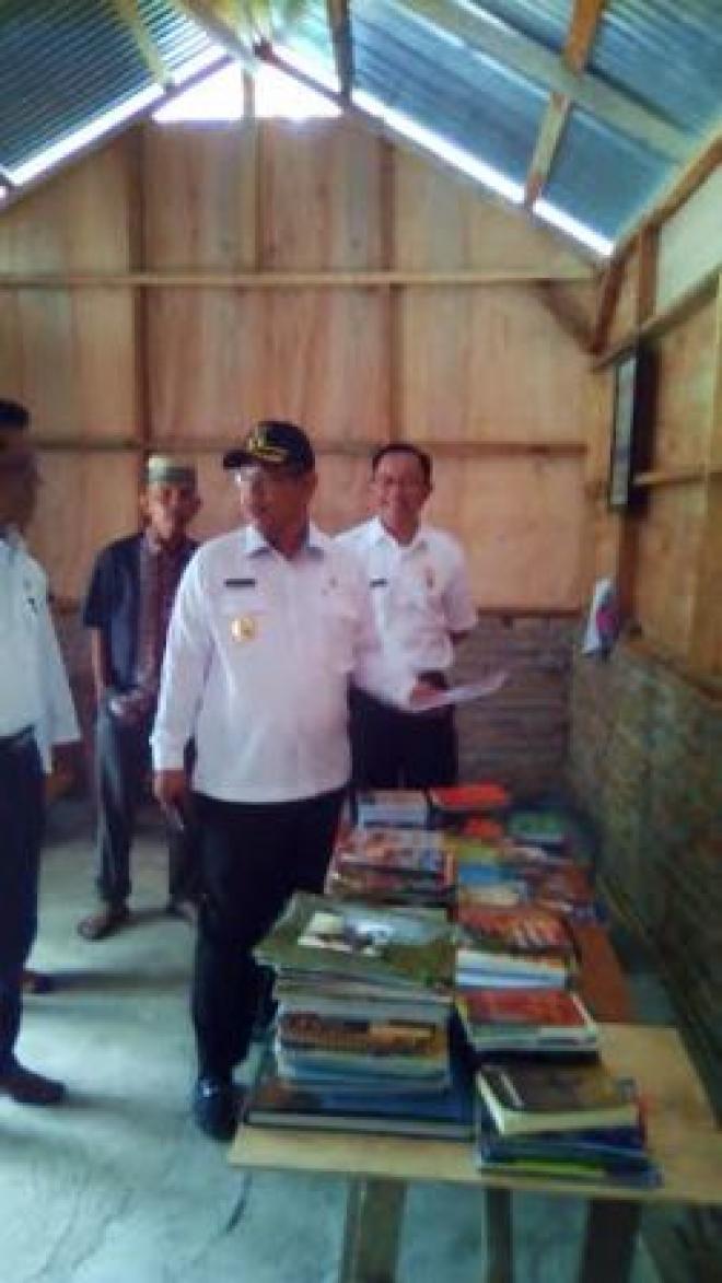 Wakil Walikota Medan Tinjau Taman Bacaan PMI di Denai