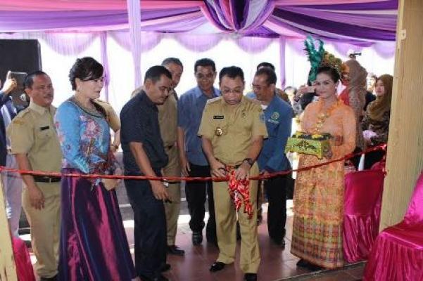 Walikota Binjai Resmikan BT/BS Bima di Jalan Jenderal Sudirman Binjai