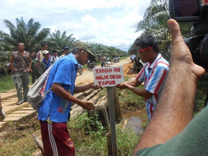 Masyarakat Tapus dan Perbatasan Minta Plt Bupati Madina Selesaikan Lahan Sengketa