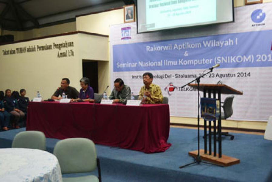 Rakorwil Aptikom Wilayah 1 Sumut-Aceh Digelar di IT Del