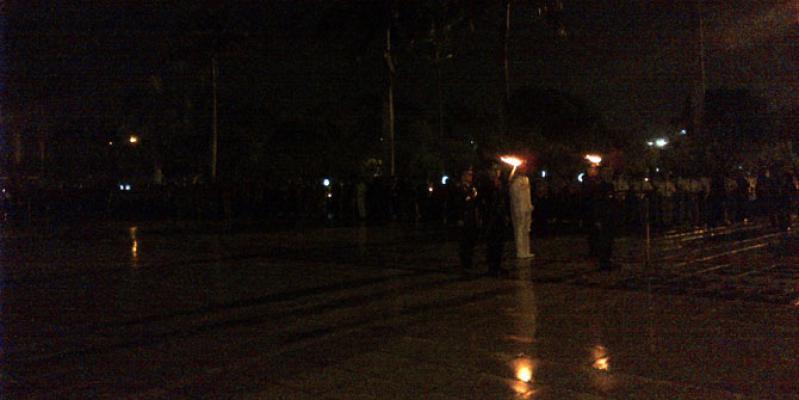 Pangdam Pimpin Apel Penghormatan dan Renungan Suci di Taman Makam Pahlawan Medan