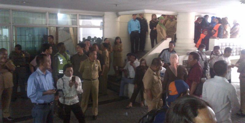 Penggeledahan KPK Jadi Tontonan Pegawai Kantor Gubernur Sumut